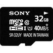 Sony - 32GB microSDHC UHS-I Memory Card