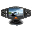AGPtek - 2.7 LCD GPS Car DVR Dual Lens Camera Recorder Video Dashboard Vehicle Camera G-Sensor TF Card