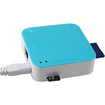AGPtek - Blue Wireless Mini Portable 3G Router WIFI w TF SD Card Reader Powered by USB - Blue