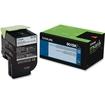 Lexmark - 80C1Sk0 801Sk Black Standard Yield - Black