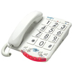 Clarity - JV35W Basic Phone with Talk Back Numbers