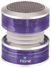 iHome - Rechargeable Mini Speaker for Apple® iPod®, iPad® and iPhone® - Translucent Purple - Translucent Purple