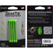 Nite Ize - Gear Tie Cord Binder 3in - 4 Pack - Lime