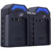 ReVIVE - Dual Camera Battery Charger for Canon BP-511 / BP-511a Batteries & EOS Rebel, 5D, 30D, 40D, 50D &Xi - Black - Black