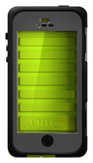 OtterBox - Armor Series Case for Apple® iPhone® 5 and 5s - Neon - Neon
