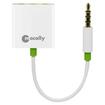 Macally - 3-way Audio Splitter Adaptor Cable