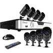 Zmodo - PKD-DK0855-500GB 8-Channel DVR Security System w/ 8 CMOS IR Cameras, 500 GB Hard Drive & Remote Web