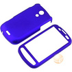 eForCity - Snap-on Rubber Coated Case Compatible with Samsung Epic 4G SPH-D700 - Blue - Blue