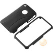eForCity - Snap-on Case Compatible with Apple iPhone 3G / 3GS - Black/Black Cup Shape - Black/Black Cup Shape