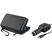 eForCity - Eva Case + Car Charger compatible with Nintendo 3DS XL/LL