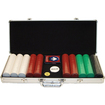 Trademark - Trademark Poker 500 Chips Super Diamond Set in Aluminum Case
