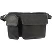 Piel Leather - Leather Waist Bag with Phone Pocket 2120 - Black