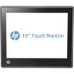 "HP - 15"" LED LCD Touchscreen Monitor - 4:3 - 25 ms - Jack Black"