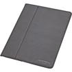 Devicewear - Ridge: Slim Vegan Leather iPad® 2/3/4 Case with Six Angle Stand Magnetic - Black