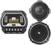 JBL - Grand Touring Speaker - 70 W RMS - 2-way - 2 Pack - 55 Hz to 21 kHz - 2 Ohm - Black