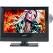 "Supersonic - 13.3"" Class (13.3"" Diag.) - TV/DVD Combo - 720p - HDTV"
