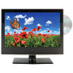 GPX - TDE1380B 13.3 Inch LED Tv/DVD Combination - Multi