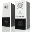 GOgroove - EQ 2.0 Multimedia Stereo Speaker System w/3.5mm AUX Independent Bass & Treble Equalizer Controls - Multi