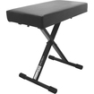 On-Stage Stands - On-Stage Stands+ Deluxe X-Style Bench - Black Powder Coat - Black Powder Coat
