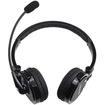 AGPtek - Bluetooth Wireless Noise Cancelling Stereo Headphone with Boom for PS3 Android Phone iPhone iPad - Black