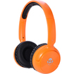 iDance - Wireless Bluetooth Headphones - 40mm neodymium driver - Orange - Orange