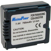 Maximal Power - CGA-DU07 Li-ion Battery for Panasonic Digital & Camcorder