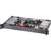 Super Micro - SuperServer 1U Rack Server - 1 x Intel Core i7 i7-3612QE 2.10 GHz - Black - Black