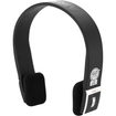 GOgroove - AirBand Wireless Bluetooth Stereo Headphones with Hands-Free Calling and Adjustable Headband - Black