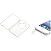 eForCity - Hard Cover Case and Plug Cap Bundle for iPod classic - Clear - Clear