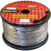 Audiopipe - CABLE1050 10 GA 50' Spool Car Audio Speaker Cable 10 Gauge - Clear - Clear