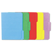 Universal - Colored File Folders, 1/3 Cut One-Ply Tab, Letter 100/Box