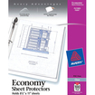 Avery - Economy Sheet Protectors 75091, Acid Free, Box of 100