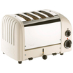 Dualit - New Generation 47165 4 Slice Classic Toaster - Canvas White - Canvas White