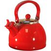 Reston Lloyd - 2.5 qt. Whistling Tea Kettle - Red - Red