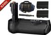 Canon - Bundle BG-E9 Battery Grip for The EOS-60D