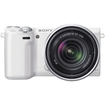 Sony - Alpha NEX-5R 16.1 MP Digital Camera - White