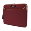 """Mobile Edge - SlipSuit Carrying Case (Sleeve) for 15.4"""" Notebook, - Gold, Red"""