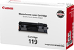 Canon - Black Laser Toner Cartridge - 2100 Pages - Black