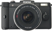 PENTAX - Q 12.4-Megapixel Digital Compact System Camera with Zoom Lens - Black