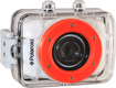 Polaroid - XS7HD HD Flash Memory Camcorder - White/Orange