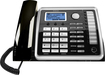 RCA - ViSYS Expandable Corded Speakerphone with Call-Waiting Caller ID - Black