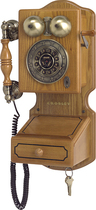Crosley - Corded Country Kitchen Wall Phone