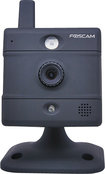 Foscam - Wireless Fixed IP Camera - Black
