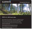 Garmin - TOPO U.S. 24K Great Lakes microSD Card - Multi