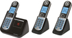 Motorola - MOTO-P1003 DECT 6.0 Cordless Phone with Digital Answering System - Black