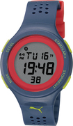 Puma - Faas Digital Watch - Blue/Red