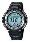 Casio - Men's Digital Compass Twin Sensor Sport Watch - Black