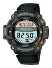 Casio - Men's Twin Sensor Multifunction Digital Sport Watch - Green