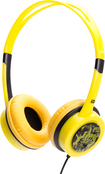 iDance - Free Over-the-Ear DJ Headphones - Yellow