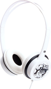 iDance - Free Over-the-Ear DJ Headphones - White
